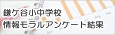 鎌ケ谷市小中学校情報モラルアンケート結果